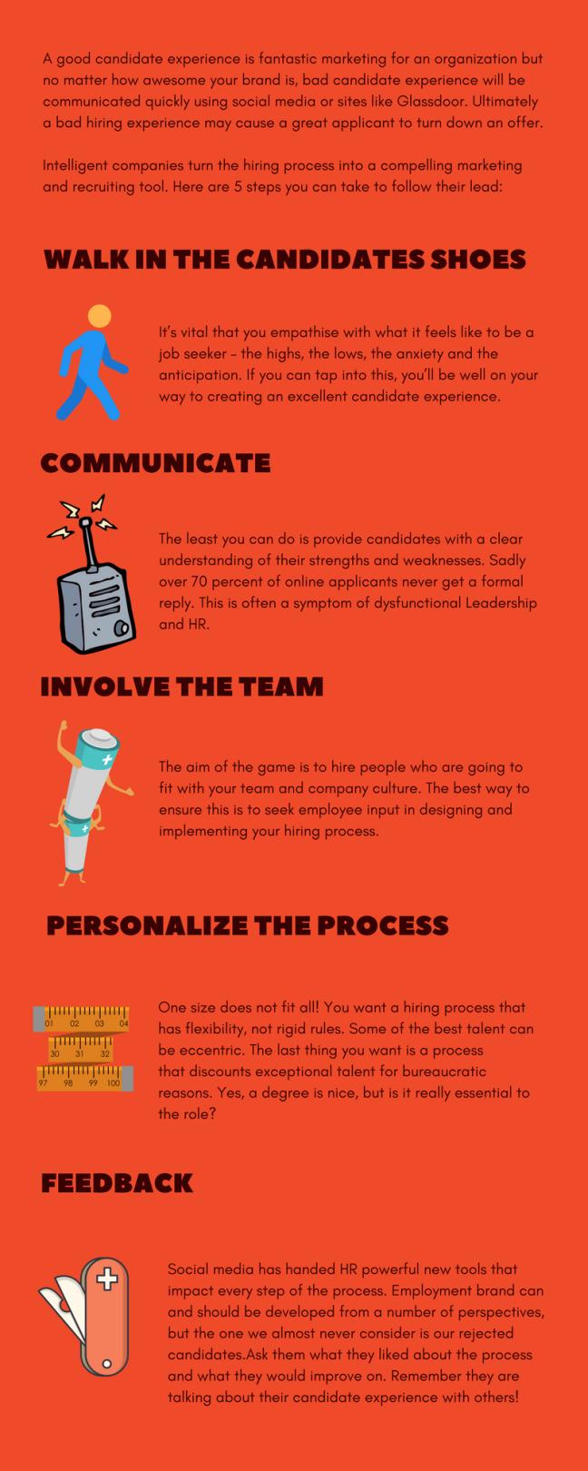 interview tips infographics brandgaard marketing recruitment candidate experience 1 final 2 2